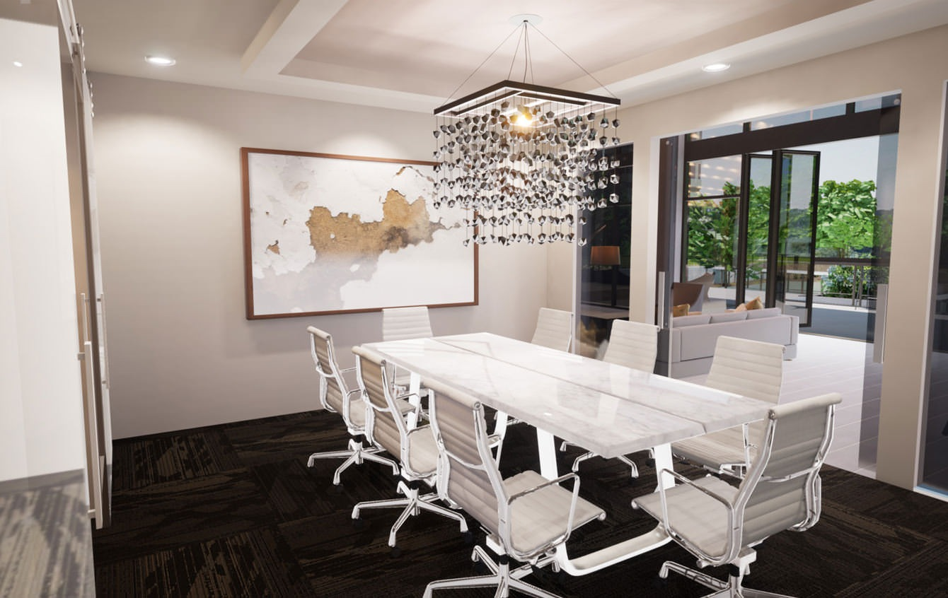 Board Room for formal or casual business meetings