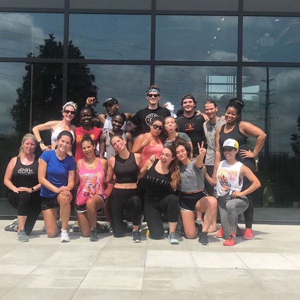 Let's make the city fit!! Thank you to @cityfitconcierge for an amazing workout!! . . . . #cityfit #fitness #fitnessmotivation #nashville #nashvillefitness #nashvillefit #workout #livetheshay