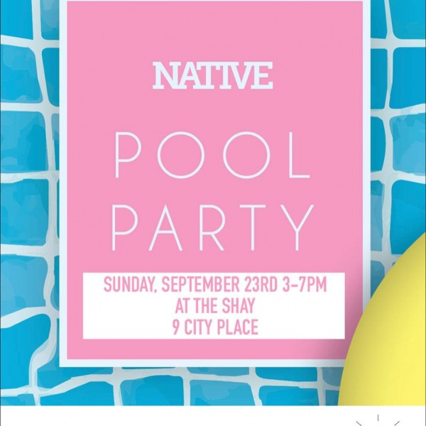 It's time to celebrate the end of summer with a pool party! Join us this Sunday for food, drinks & music with @native_nashville, @brownleebathingcorp, @kokosicecream and @choppertiki! . . . . . #poolparty #party #endofsummer #drinks #food #music #dj #livetheshay #westisbest #native #icecream