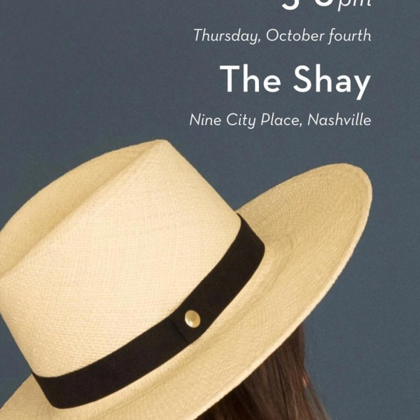 And now, HATS. Join us this Thursday, Oct 4th from 5PM - 8PM for @fauxgerty Nashville Hat Launch! Come see their new line of hats, shop their sustainable silhouettes, and celebrate with complimentary cups of @sumpcoffeenashville + bits by @pastarianashville! 10% of all event proceeds will benefit the Nashville Fashion Forward Fund. Can't wait to see you there. . . . . #fashion #hats #nashville #nashvillefashion #onec1ty #livetheshay #events #sustainableliving #lifeinbalance