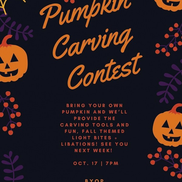 It's finally fall and we are celebrating with a Pumpkin Carving Contest! Join us Thursday from 7-9pm for pumpkin themed treats and libations. (RSVP in bio) . . . . . #pumpkin #pumpkinspice #pumpkincarving #livetheshay #fall #nashville #events #onec1ty #westisbest