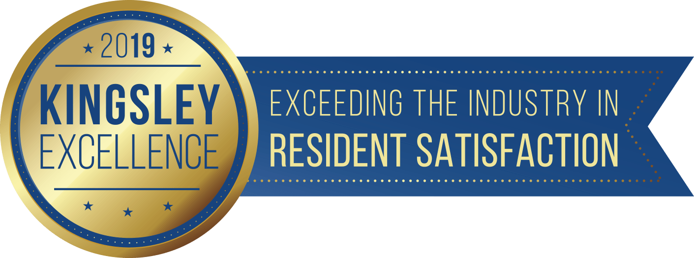 Kingsley Excellence Award in Resident Satisfaction